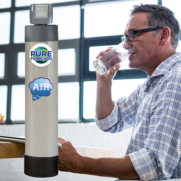 Remove Iron, Sulfur, Manganese From Your Water With The Chemical-Free Water Filtration System