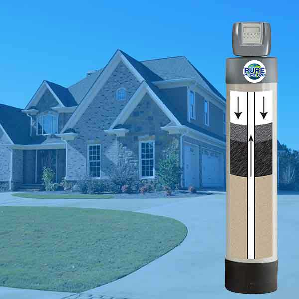 Remove Chlorine, Harmful chemicals, and Hardness From Your Water With The Three-In-One Combination Whole House Water Filtration System