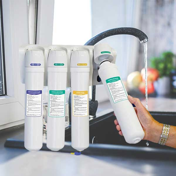 Drink Better Water From Your Tap With The Six-Stage Reverse Osmosis Drinking Water Filtration System