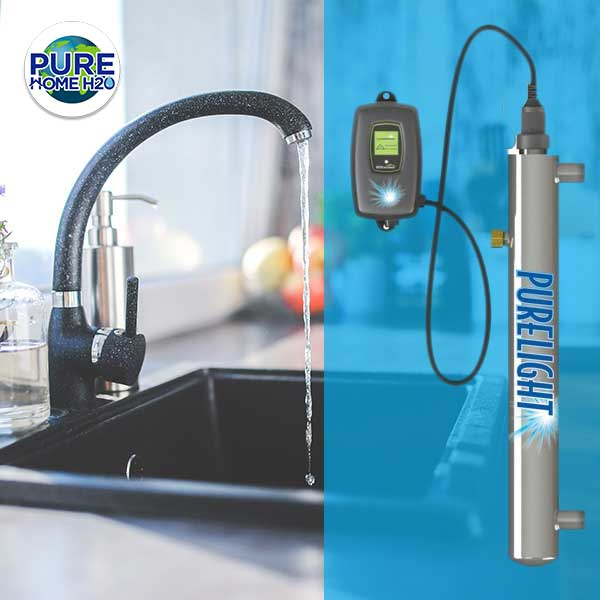 Remove Bacteria From Your Water With The Pure Light UV Disinfection Purification System
