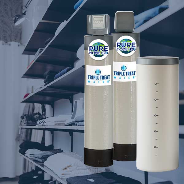 Remove Chlorine, Harmful chemicals, and Hardness From Your Water With The Triple Treat Water Conditioning Systems