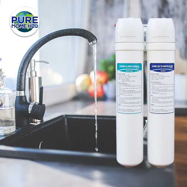 Drink Better Water From Your Tap With The Two-Stage Reverse Osmosis Drinking Water Filtration System